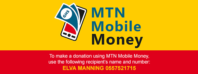 Donate To The Ghana Project Using MTN Mobile Money